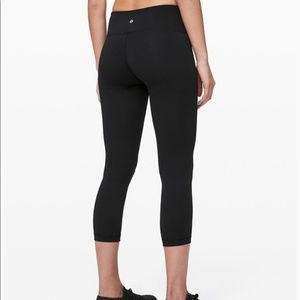 Lululemon Wunder Under Crop SZ 8